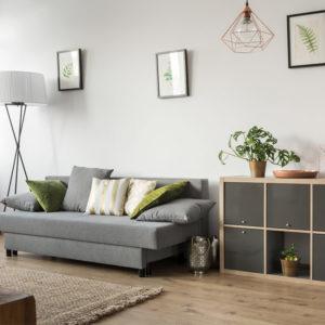 Aménagement d'un salon à l'inspiration nordique