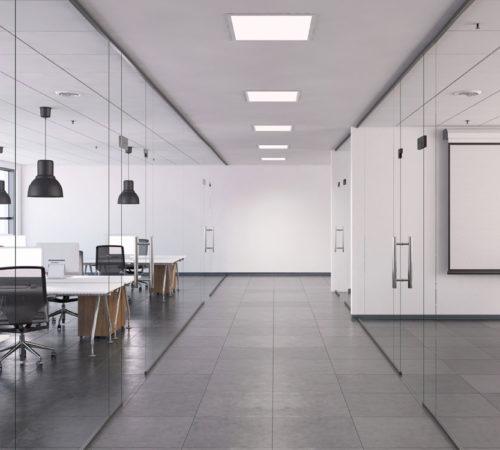 Aménagement d'un espace de travail en open space