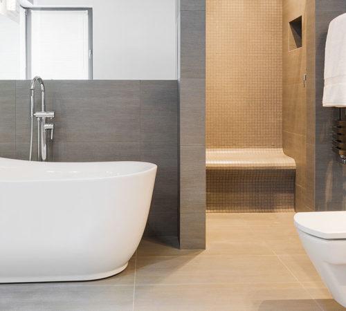Réalisation d'une salle de bain au style intemporel